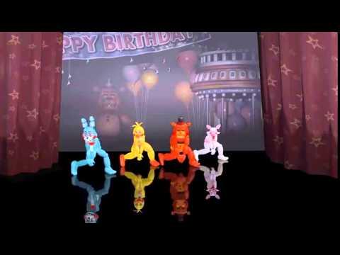 Animação do five nights at freddy's- shake it off