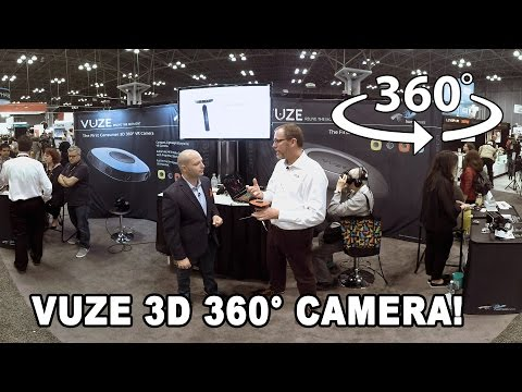 360° Video: Vuze 3D 360° Camera at PhotoPlus Expo 2016