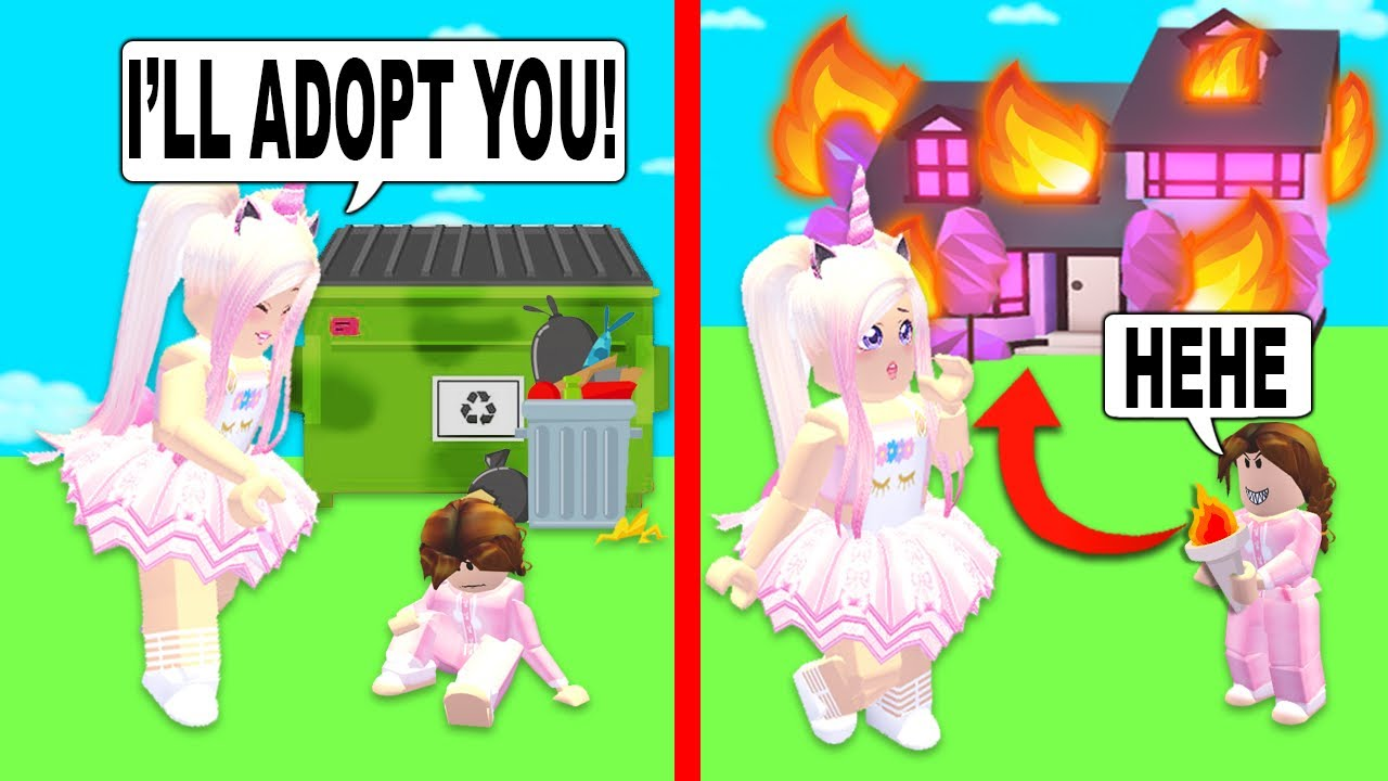 No One Wanted To Adopt Her So I Found Out Why In Adopt Me Roblox