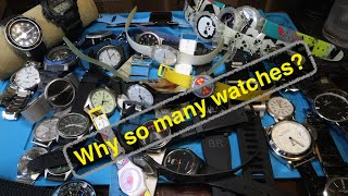 Who needs this many watches?