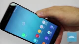 Samsung Galaxy J7 2017 How to insert SIM card / memory card