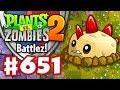 Battlez! Primal Potato Mine Strategy! - Plants vs. Zombies 2 - Gameplay Walkthrough Part 651