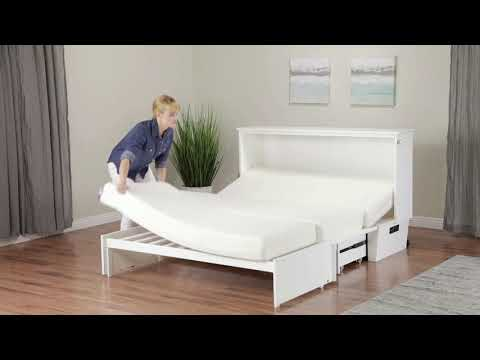 Madison Murphy Bed (Chest Bed) by Atlantic Furniture
