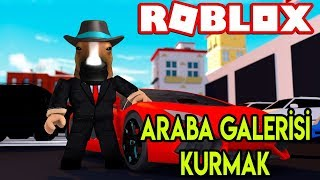 We're Setting Up Our Own Car Gallery 🚗 🚗 | Car Dealership Tycoon | Roblox English