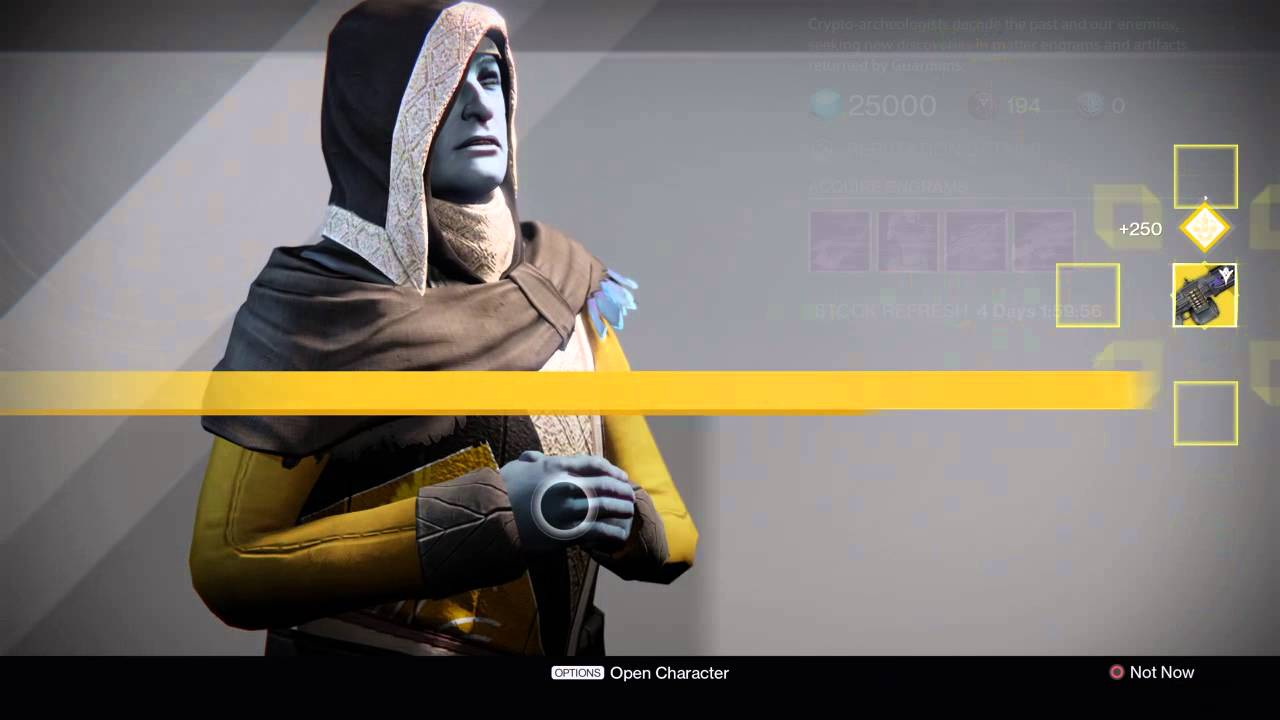 Destiny Exotic Christmas presents - YouTube