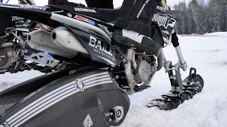STV 2017 Snowbike Track Demo Day
