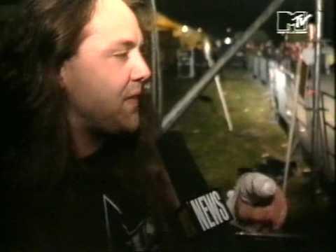 Metallica - MTV Report Moscow, Russia 28-09-91