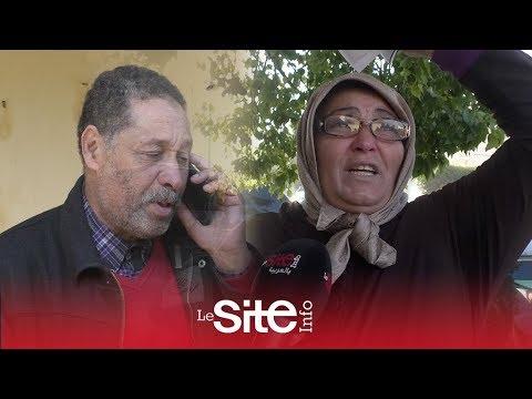 زوجة الممثل عبد اللطيف الخمولي الإفراغ داروه باش نكون مجرمة أنا وأولادي