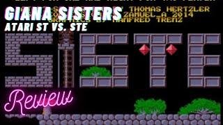15 minutes of game - Giana Sisters Atari STe vs. Atari ST Version