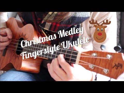 Fingerstyle Ukulele - Christmas Medley - with tabs