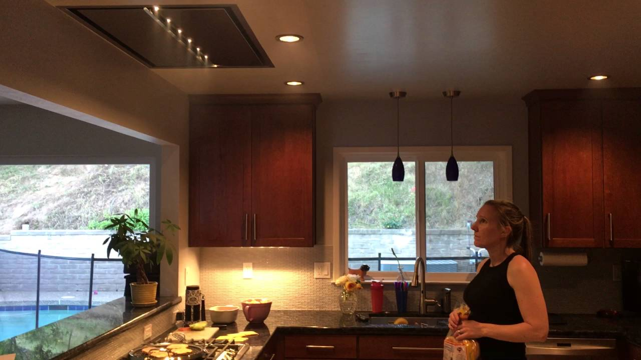 Cirrus Flush Mounted Range Hood By Best Youtube