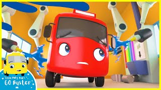 Learn Colors With Buster! | Go Buster | Learn From Home | Kids Videos | ABCs and 123s | Song