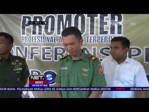 Seorang TNI Gadungan Ditangkap Polisi -NET5