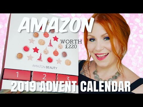 AMAZON 2019 BEAUTY ADVENT CALENDAR UNBOXING / ON OFFER FOR £40 !