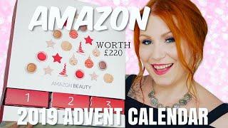 AMAZON 2019 BEAUTY ADVENT CALENDAR UNBOXING / WORTH £220