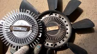 Замена вискомуфты Ауди А6 С5, как работает исправная вискомуфта вентилятора охлаждения