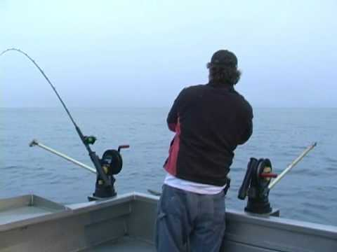 Alaska Winter King Fishing Kachemak Bay Homer Alaska