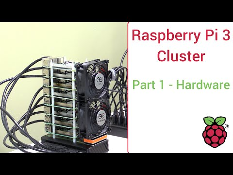 Raspberry Pi 3 Super Computing Cluster Part 1 -  Hardware Li