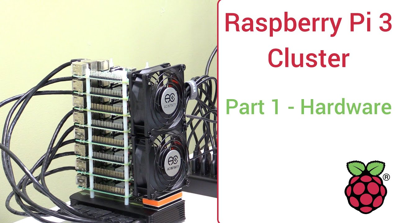Raspberry Pi 3 Super Computing Cluster Part 1 Hardware