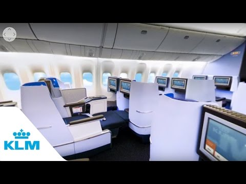 KLM 360 Experience B777 - Business Class