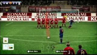 Pro Evolution Soccer - PES 2010 video game trailer on Nintendo Wii