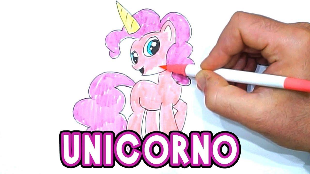 Disegnare Un Unicorno Facile Per Bambini Semplice Disegno Unicorno