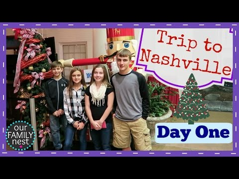 TRAVELING TO NASHVILLE TENNESSEE - DAY ONE