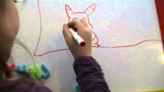 Drawing Pikachu - Alyssa from Switzerland