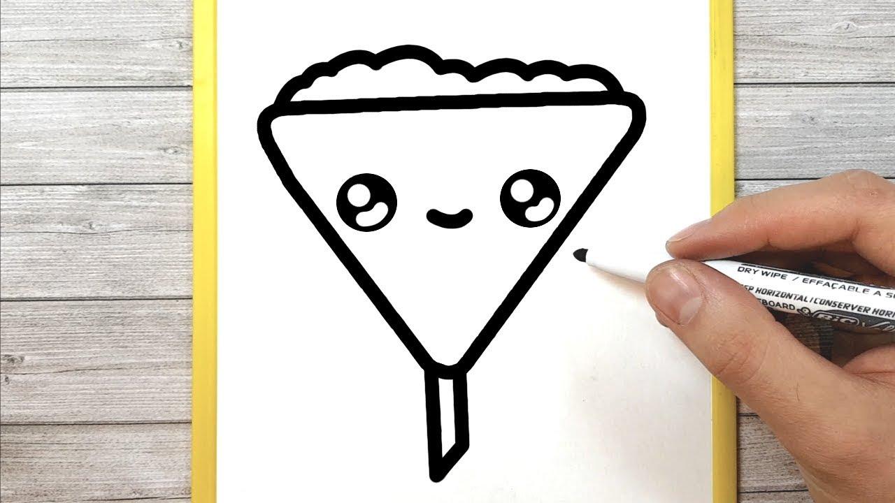 Come Disegnare Un Imbuto Kawaii Per Bambini Youtube