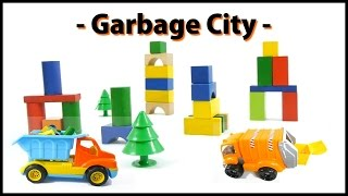 Trash Toy City: Kids Mega Construction with Mr Bulldozer! (Город Trash Большой Строительство) Games