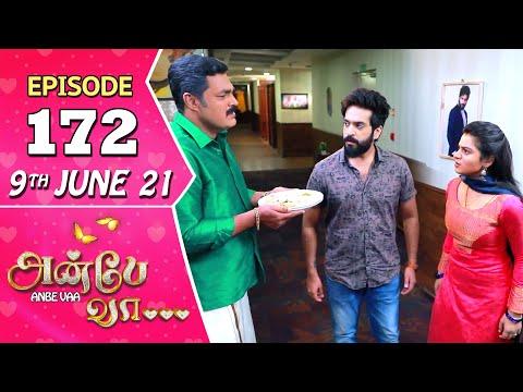 Anbe Vaa Serial | Episode 172 | 9th June 2021 | Virat | Delna Davis | Saregama TV Shows Tamil