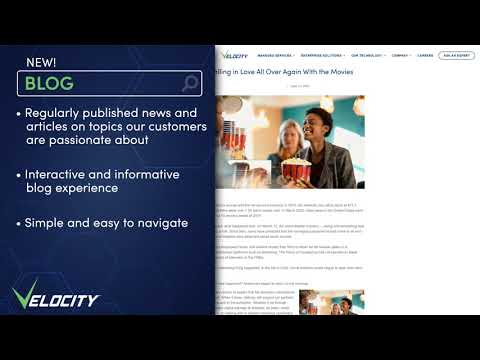 Velocity Launches New Website to Amplify Offerings in the Managed Service Provider Industry