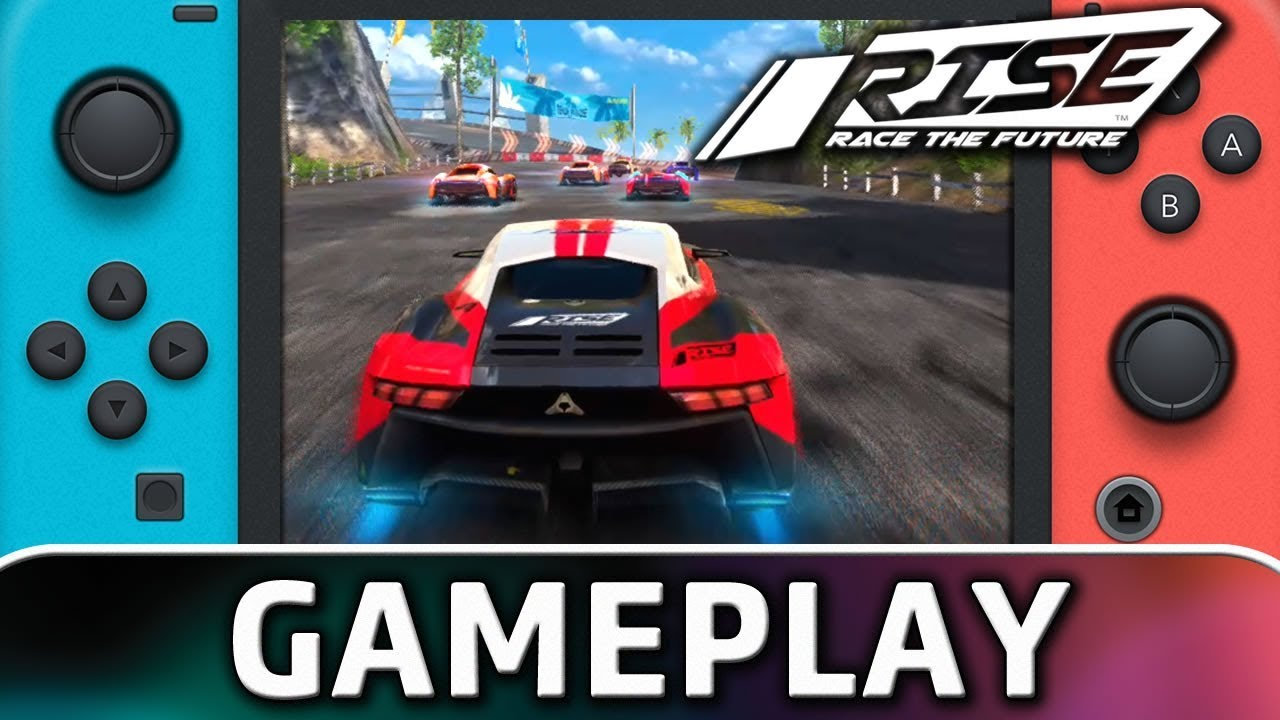 Rise: Race The Future | First 10 Minutes on Nintendo RISE: Race The Future is a racing game set in a near future where a new kind of wheel technology will let you drift on all type of terrains and especially on water. Switch