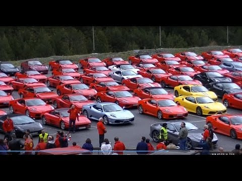 6th Ferrari Meeting Andorra - 175 Ferraris, 2 Lamborghini, 2 Maseratis and 1 Aston!!