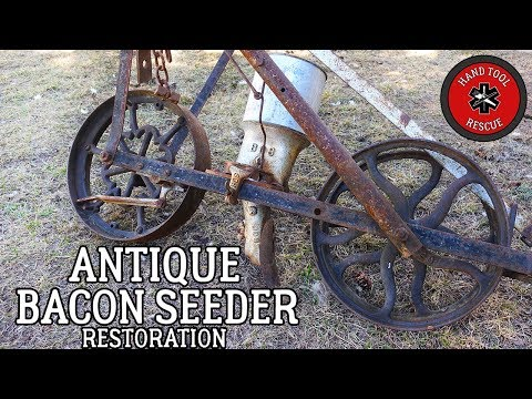 Antique Bacon Mfg. Co. Garden Seeder [Restoration]