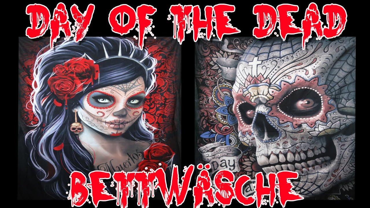 Day Of The Dead Bettwäsche Vorstellung Youtube