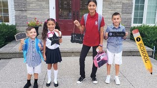 First Day of School Morning Routine!