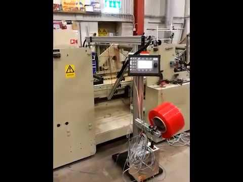 Arataper application of double sided tape -by Arapak