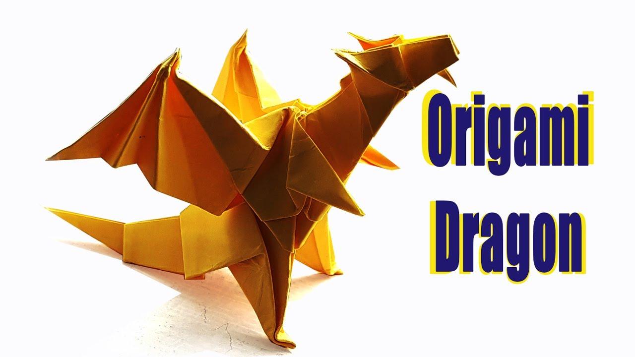 Origami Dragon #2 (Designed by Jo Nakashima) - Origami ... - photo#20