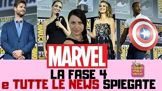 MARVEL: Fase 4, film, serie TV e tutte le news SPIEGATE