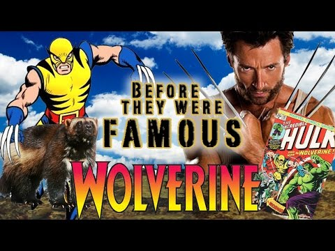 WOLVERINE - Before They Were Famous