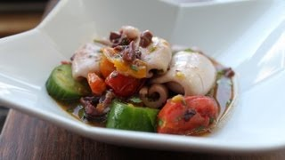Light and Refreshing Calamari Salad