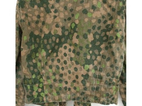How to paint ss pea dot camouflage