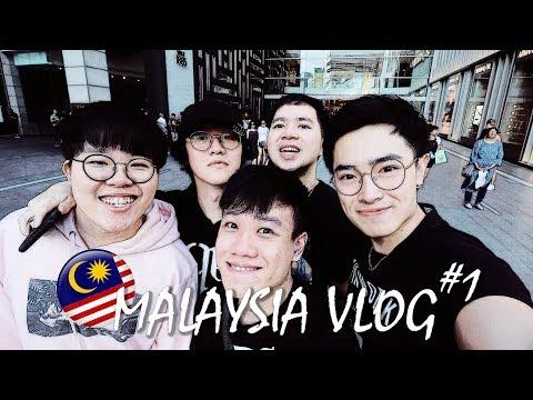 去找馬來西亞基友宋聖玩!Malaysia Vlog #1