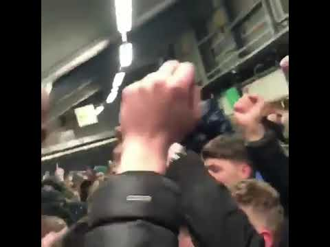 L Stand concourse Old Trafford: We hate Liverpool and Man City