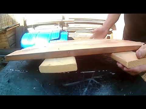 Comment faire un meuble avec un fut en métal ?  How to make a piece of furniture with a metal case?