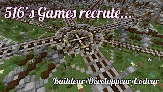 Recherche de Buildeur, Développeur, Codeur - MINECRAFT
