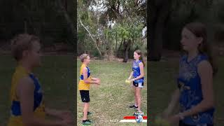 Double Ball Footy Drill