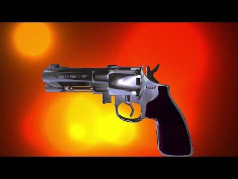Футаж для начала фильма Стрельба из револьвера без титров