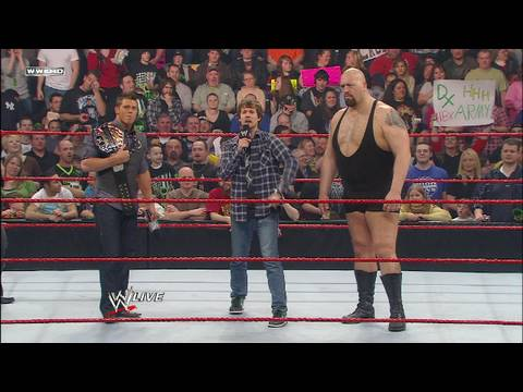 Raw guest host Jon Heder makes a new tag team